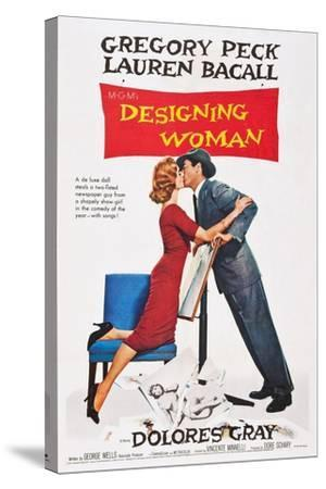 Designing Woman--Stretched Canvas Print