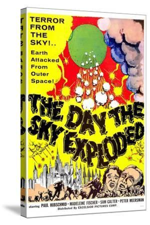 The Day the Sky Exploded--Stretched Canvas Print