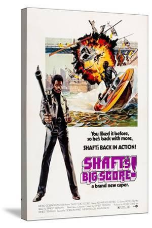Shaft's Big Score!--Stretched Canvas Print