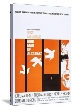 Birdman of Alcatraz--Stretched Canvas Print
