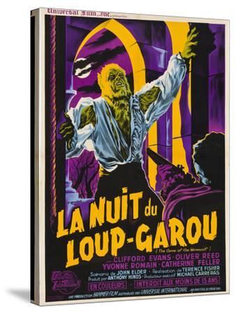 The Curse of the Werewolf (aka La Nuit Du Loup-Garou)--Stretched Canvas Print