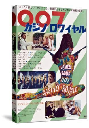Casino Royale--Stretched Canvas Print