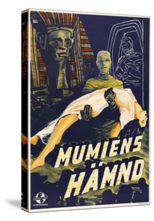The Mummy's Hand--Stretched Canvas Print