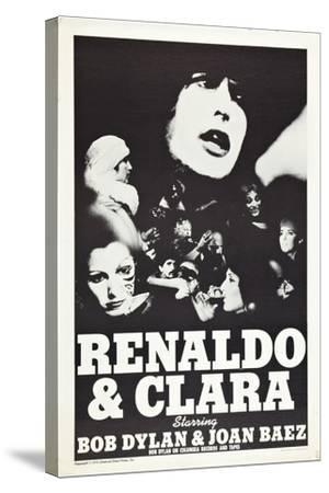 Renaldo and Clara--Stretched Canvas Print