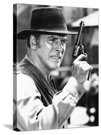 Lawman--Stretched Canvas Print