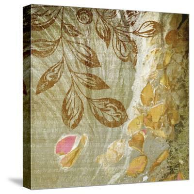 Gold Swirl I-Studio 2-Stretched Canvas Print