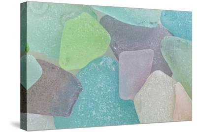 Beach Glass II-Kathy Mahan-Stretched Canvas Print