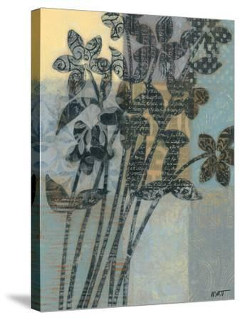 Quilted Bouquet II-Norman Wyatt Jr^-Stretched Canvas Print