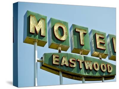 Vintage Motel III-Recapturist-Stretched Canvas Print