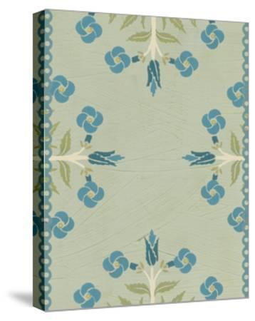 Cottage Vignette IV-Erica J^ Vess-Stretched Canvas Print