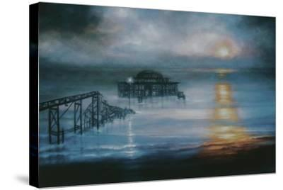Lucent, 2006 Old Brighton Pier-Lee Campbell-Stretched Canvas Print