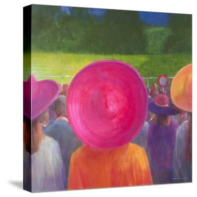 Finishing Post, Hats, 2014-Lincoln Seligman-Stretched Canvas Print
