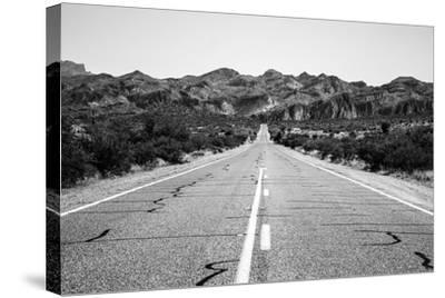 Desert Road in Arizona--Stretched Canvas Print