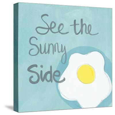 Sunny I-Linda Woods-Stretched Canvas Print