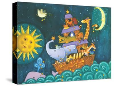 The Ark, the Sun and the Moon-Viv Eisner-Stretched Canvas Print