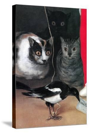 Bird Watching-Suzanne Valadon-Stretched Canvas Print