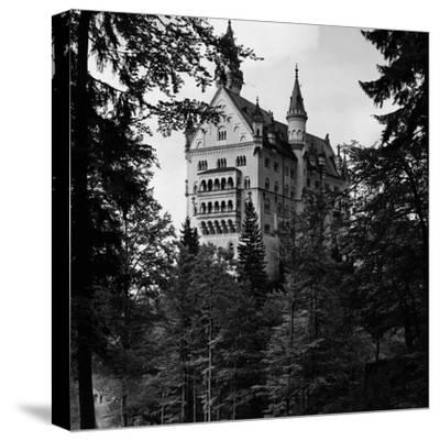 Bavarian Castle-Fox Photos-Stretched Canvas Print