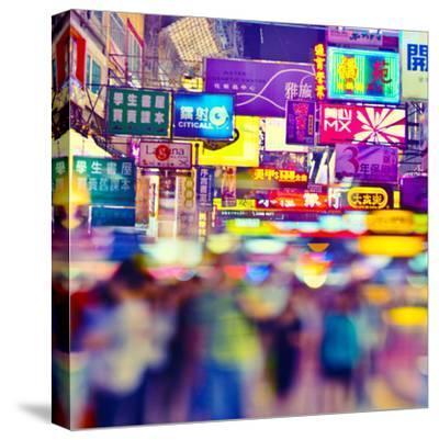 Manga Hong Kong-rogvon photos-Stretched Canvas Print