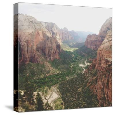 Angels Landing View-Kevin Russ-Stretched Canvas Print