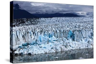 Leading Edge of Glacier and Glacial Pond-Adam Jones-Stretched Canvas Print