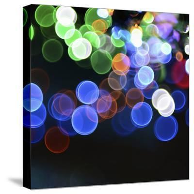 Magical Lights Background-kai zhang-Stretched Canvas Print