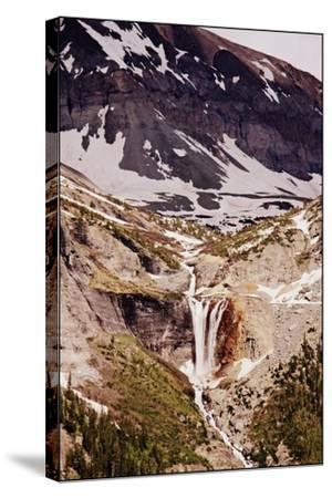Telluride, Colorado, Mountain Waterfall-Kayla Sawyer-Stretched Canvas Print