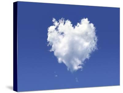 Heart-Shaped Cloud, Artwork-LEONELLO CALVETTI-Stretched Canvas Print
