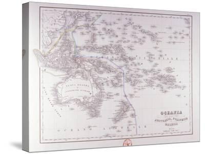 Oceania (Australia, Polynesia, and Malaysia)-Fototeca Gilardi-Stretched Canvas Print