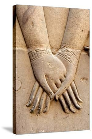 Holding Hands-Joe & Clair Carnegie / Libyan Soup-Stretched Canvas Print