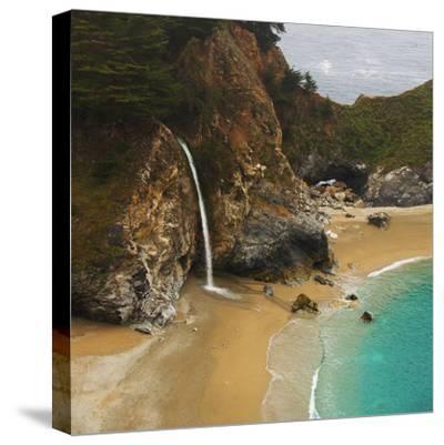 Waterfall-Robert Dalton-Stretched Canvas Print