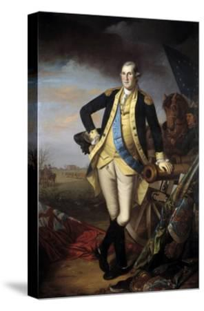 Full-Length Portrait of George Washington--Stretched Canvas Print
