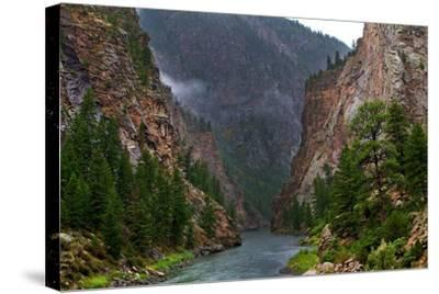 Into the Canyon-Hansrico Photography-Stretched Canvas Print