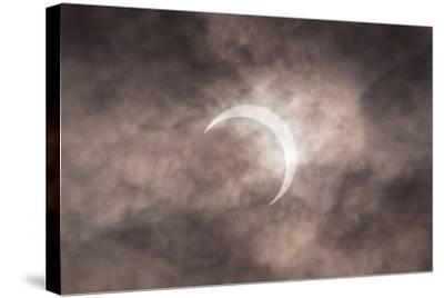 Solar Eclipse-Margarita Komine-Stretched Canvas Print