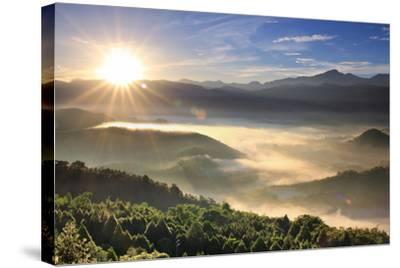 First Light of Day-1000-Stretched Canvas Print