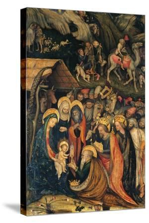 Journey and Adoration of Magi--Stretched Canvas Print