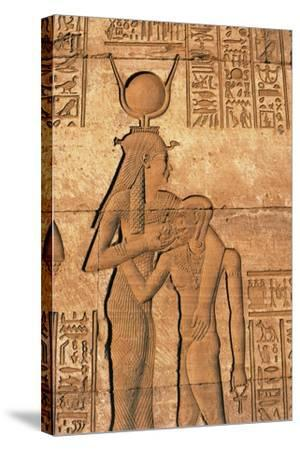 Egypt, Dandarah--Stretched Canvas Print