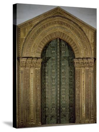 Bronze Door, 1185-1186-Bonanno Pisano-Stretched Canvas Print
