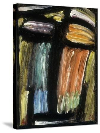 Meditation, 1936-Alexej Von Jawlensky-Stretched Canvas Print