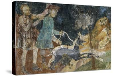 Hunting Scenes, 1292- Azzo of Masetto-Stretched Canvas Print