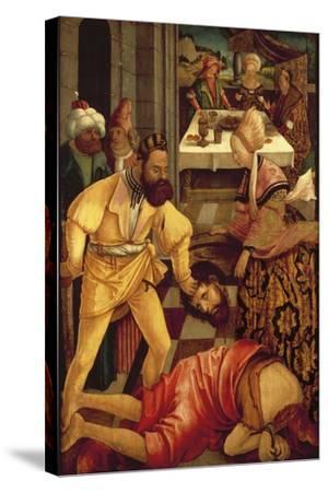 The Beheading of Saint John the Baptist-Erhard Altdorfer-Stretched Canvas Print