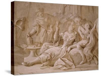 Garden Party-Francesco Simonini-Stretched Canvas Print