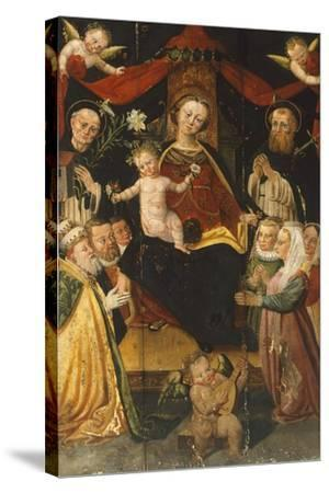 Madonna and Child-Giangiacomo Testa-Stretched Canvas Print