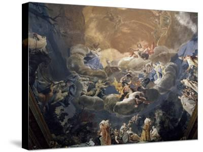 Olympus, 1690-1700-Giuseppe Maria Crespi-Stretched Canvas Print