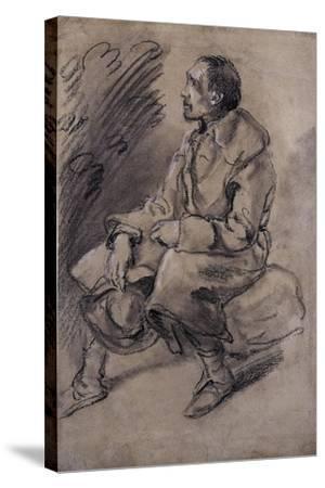 Study of a Woodman, C.1787-Thomas Gainsborough-Stretched Canvas Print