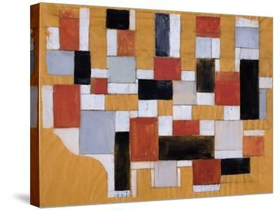 Study, 1926-Theo Van Doesburg-Stretched Canvas Print