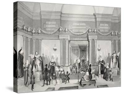 Madame Tussaud's Exhibition of Wax-Work-Thomas Hosmer Shepherd-Stretched Canvas Print