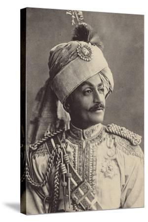 Sir Pertab Singa--Stretched Canvas Print