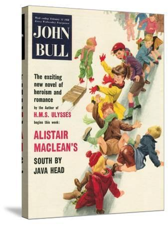 Front Cover of 'John Bull', February 1958--Stretched Canvas Print