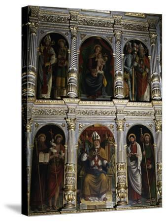 Polyptych of St. Ambrose, 1547--Stretched Canvas Print