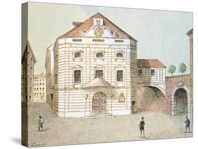 Corinthian Gate Theatre in Vienna, Austria--Stretched Canvas Print